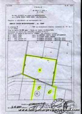 SOLD Land for sale near Sofia Ref. No 9250