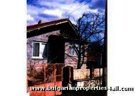 Bulgarian brick house in rural Rousse region Ref. No 9416