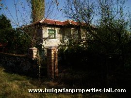 Rural two storey house for sale Property in Bulgaria Ref. No 1163